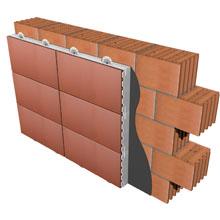 Los Kits Faveker De Gres De Aragon De Aislamiento Termico De Muros - Muros-exteriores