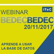 Uso de la base de datos BEDEC en proyectos de construcción