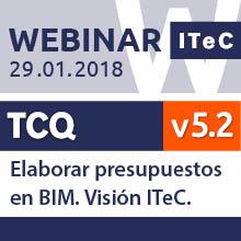 Webinar Elaborar presupuestos en BIM. Visión ITeC