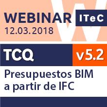 Seminario web de presupuestos BIM a partir de IFC
