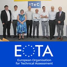 Reunión del grupo de trabajo EOTA para productos retardantes del fuego en el ITeC