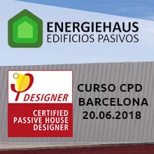 Nueva edición del Curso Passivhaus Designer de Energiehaus en Barcelona