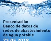 Banco de datos de redes de abastecimiento de agua potable
