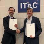 El COIGT y el ITeC firman un convenio en favor de la promoción de las actividades de la CCF