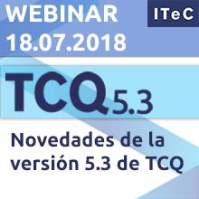 """Webinar """"Novedades de la versión 5.3 de TCQ"""""""