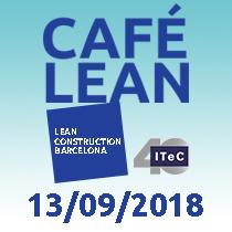 13 de septiembre - Café Lean: gestionar equipos de trabajo y crear experiencias laborales gratificantes