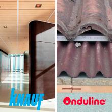 Els productes de les empreses Onduline i Knauf Amf Sistemas de Techos s'actualitzen al BEDEC