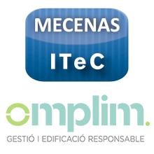 Omplim, Gestió i Edificació Responsable SLU, nuevo mecenas del ITeC