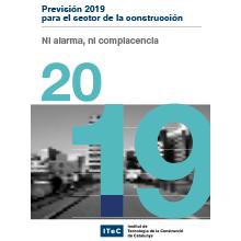 Descárgate la Previsión del sector de la construcción para el 2019