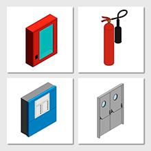 Publicació d'elements de protecció contra incendis a la biblioteca d'objectes genèrics BIM de l'ITeC, basats en eCOB®