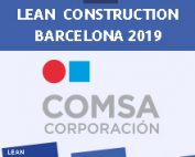 COMSA patrocina un any més la Jornada Lean Construction Barcelona 2019