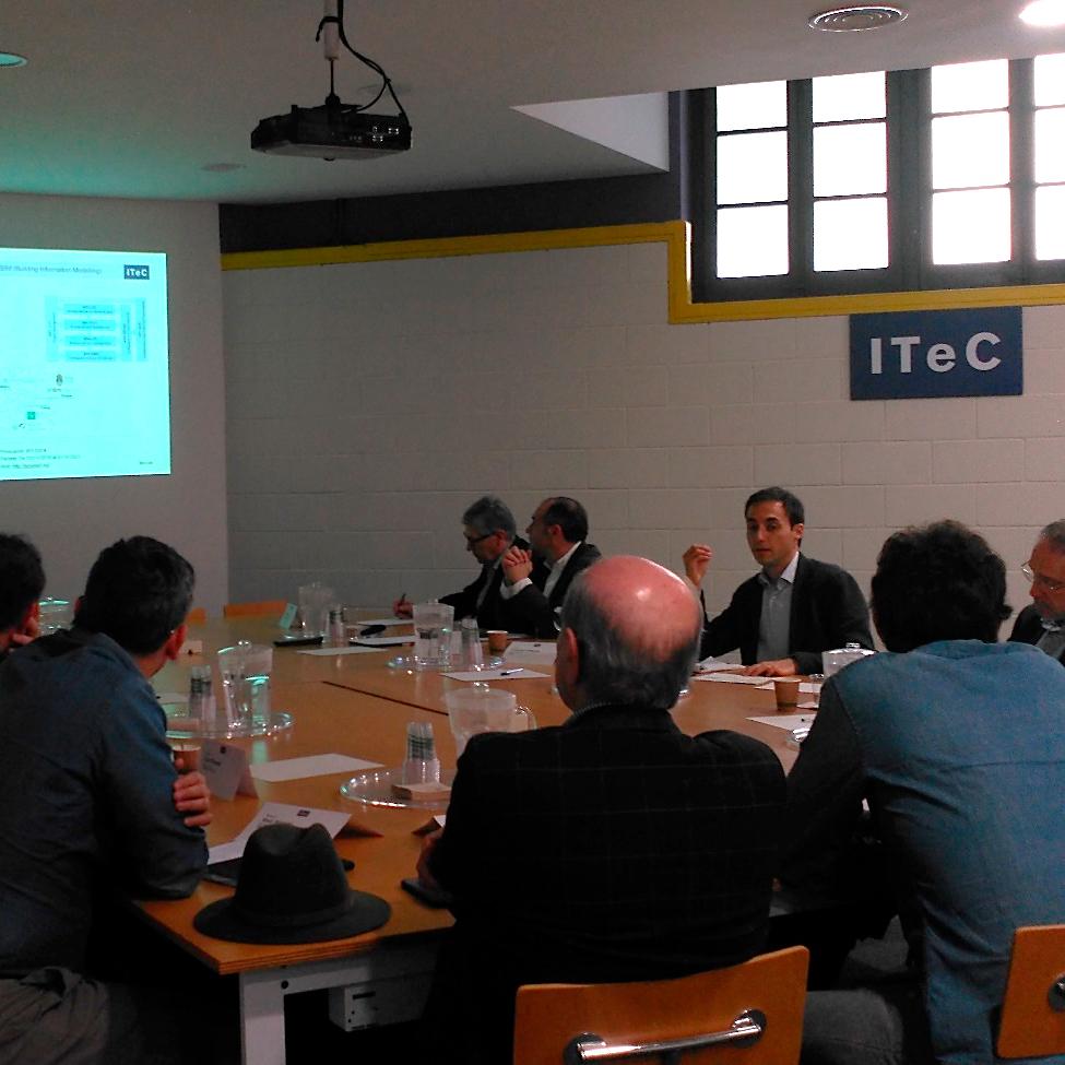 Presentats els projectes europeus de l'ITeC a la CIC