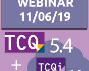 """11 de juny: Webinar """"Novetats de TCQ 5.4 i TCQi 1.0"""""""