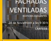 María Bento invitada a la jornada de fachadas ventiladas de Sika