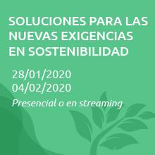 Soluciones para las nuevas exigencias en sostenibilidad