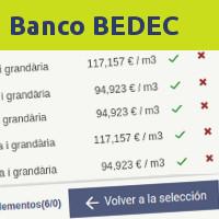 Banco Bedec 2018