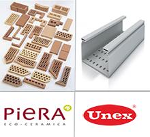 Los productos de las empresa Unex y Piera Ecocerámica se actualizan en el Bedec.