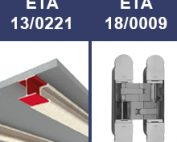 Las empresas Inther i Promat obtienen los ETA 18/0099 y 13/0221