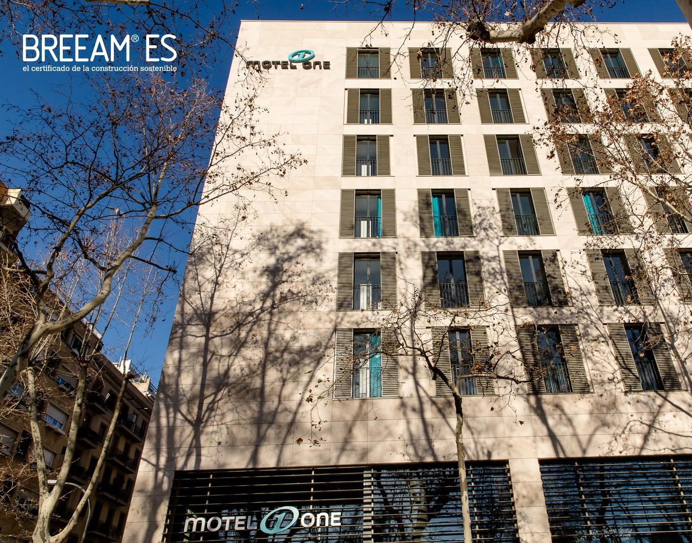 BREEAM certifica a Barcelona el primer hotel de nova construcció de nivell Molt Bo