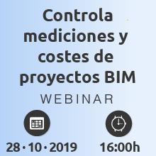 Control total de mediciones y costes de proyectos BIM, con flujos de trabajo basados en Navisworks y TCQ