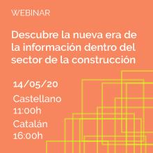 Jornada: Descubre la nueva era de la información dentro del sector de la construcción
