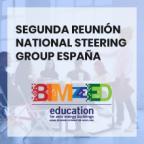 Segunda reunión National Steering Group España