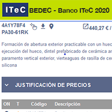 Ya está disponible el BEDEC 2020
