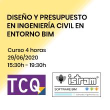 Nuevo curso de diseño y presupuesto en ingeniería civil en en torno BIM