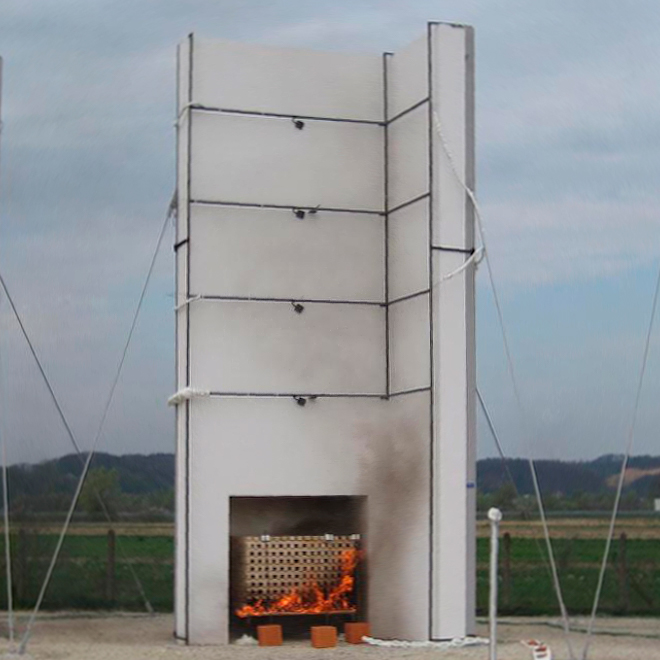 Proyecto europeo para el desarrollo un futuro método armonizado de evaluación del comportamiento frente al fuego de fachadas a escala real